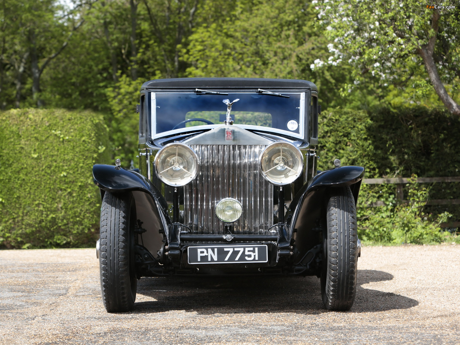 Rolls-Royce Phantom II Continental Touring Saloon by Mulliner 1931 pictures (1600 x 1200)