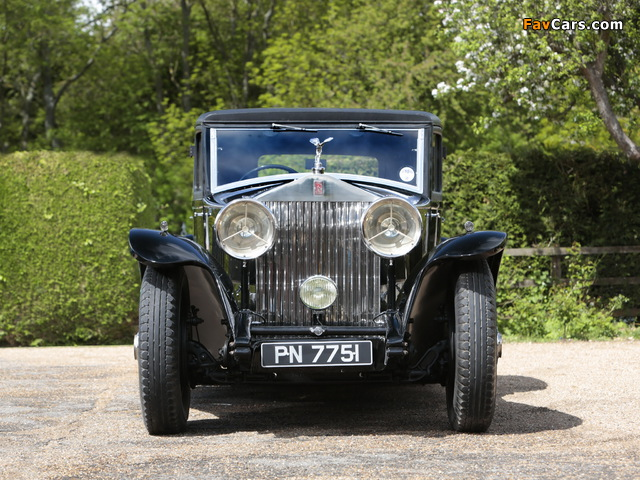 Rolls-Royce Phantom II Continental Touring Saloon by Mulliner 1931 pictures (640 x 480)