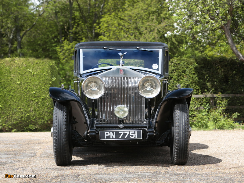 Rolls-Royce Phantom II Continental Touring Saloon by Mulliner 1931 pictures (800 x 600)