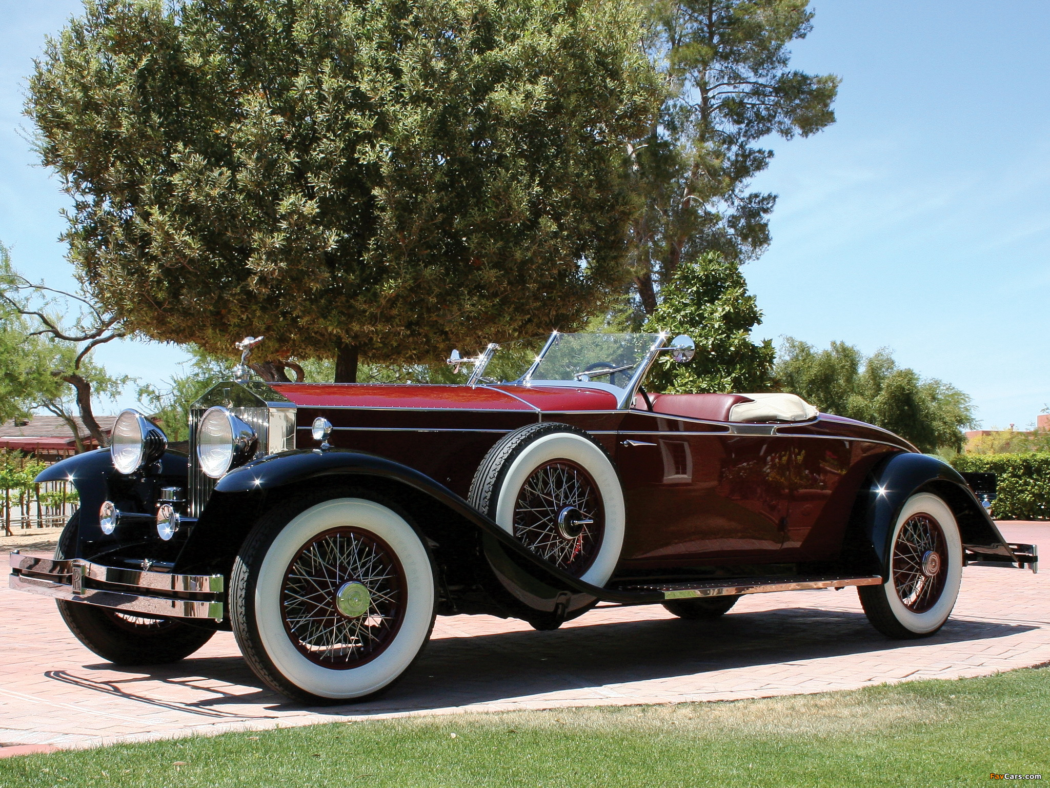 Rolls-Royce Phantom II Roadster by Brewster 1931 pictures (2048 x 1536)