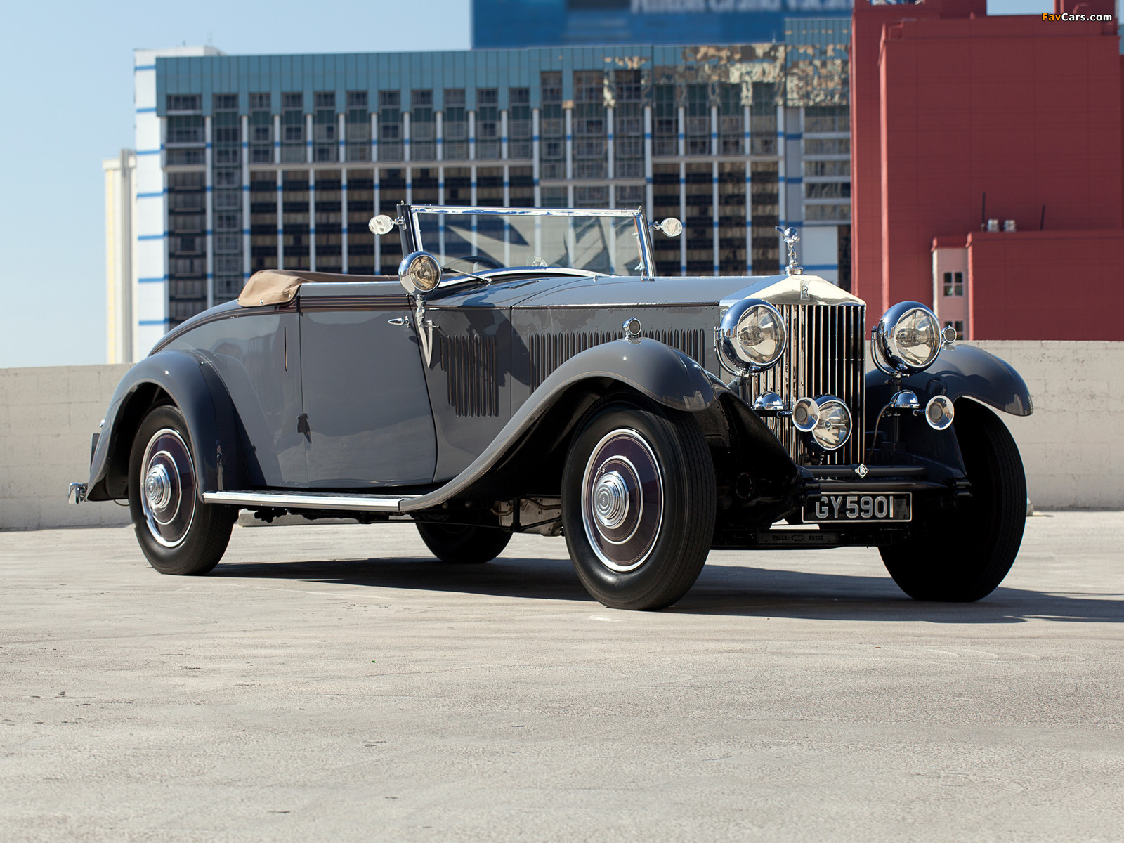 Rolls-Royce Phantom II Continental Drophead Coupe by Carlton 1932 images (1600 x 1200)