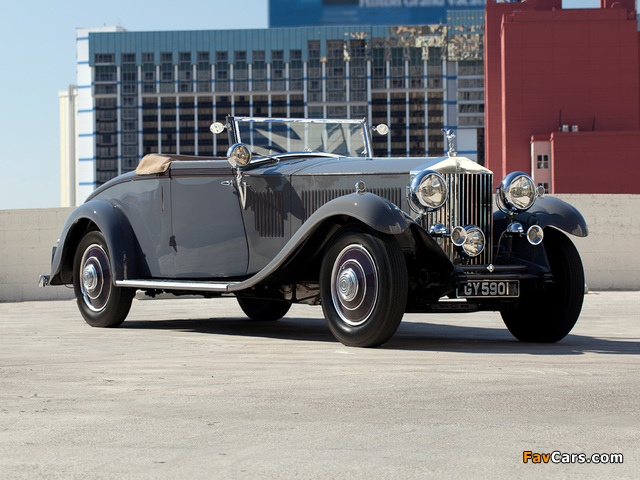 Rolls-Royce Phantom II Continental Drophead Coupe by Carlton 1932 images (640 x 480)