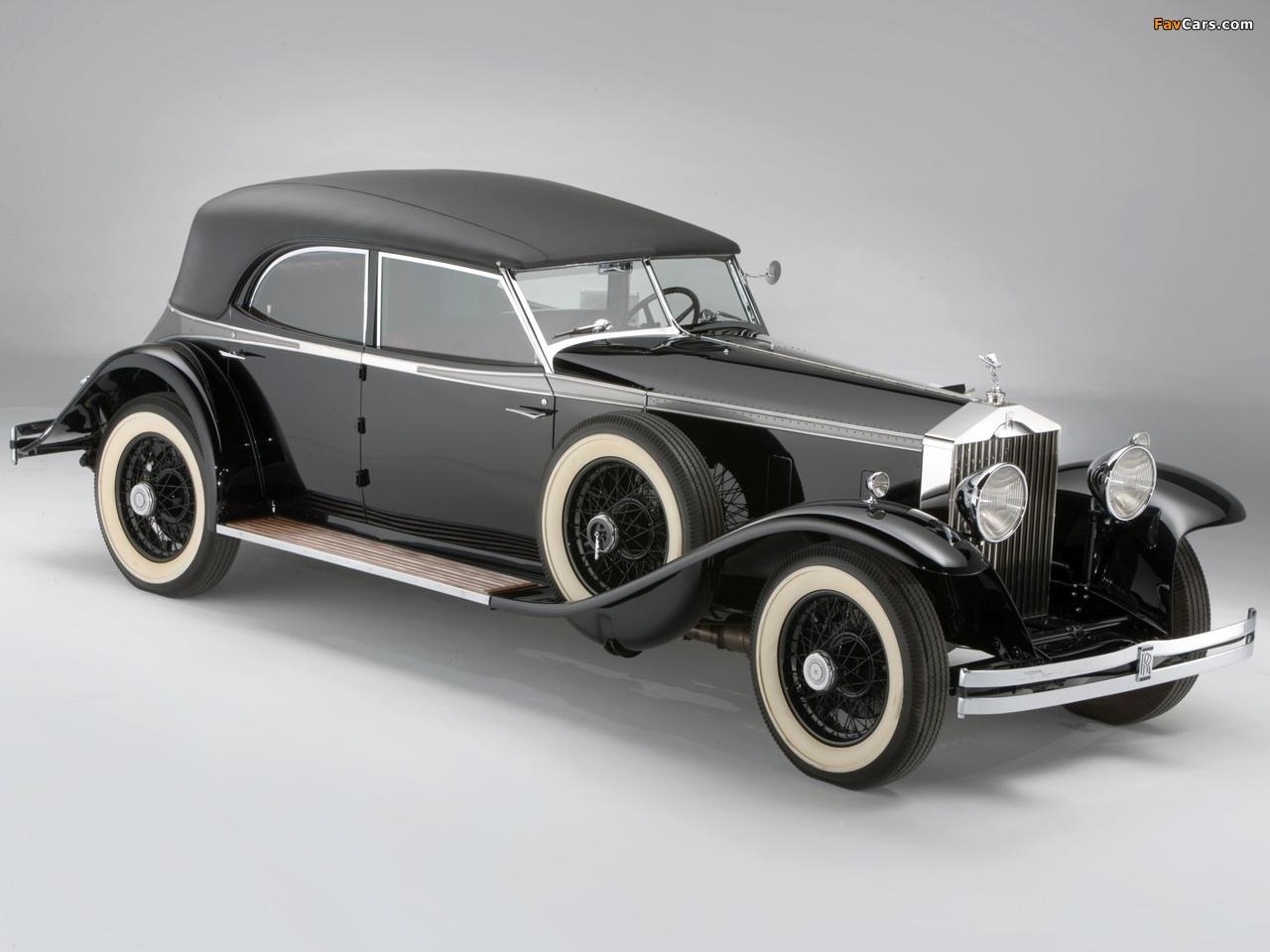 Rolls-Royce Phantom II Permanent Newmarket Sport Sedan 1932 images (1280 x 960)