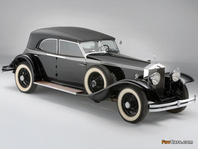 Rolls-Royce Phantom II Permanent Newmarket Sport Sedan 1932 images (640 x 480)
