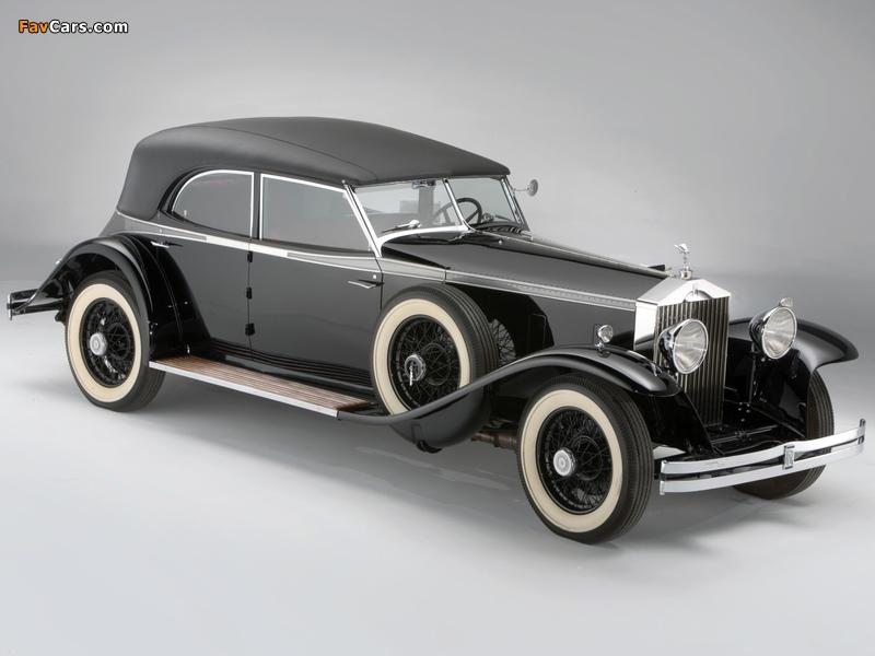 Rolls-Royce Phantom II Permanent Newmarket Sport Sedan 1932 images (800 x 600)
