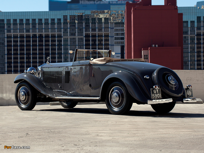 Rolls-Royce Phantom II Continental Drophead Coupe by Carlton 1932 images (800 x 600)
