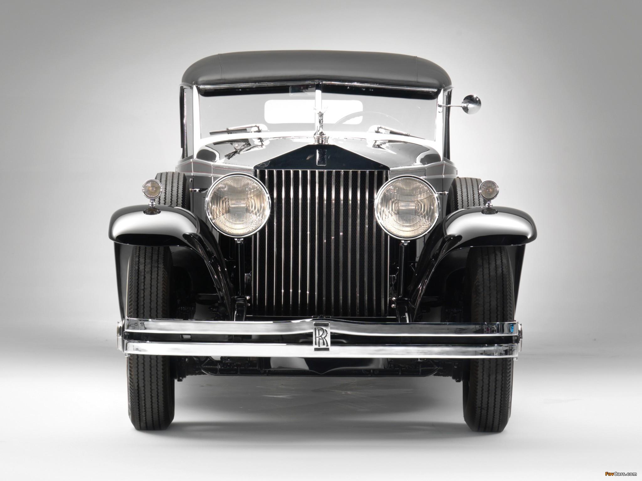 Rolls-Royce Phantom II Permanent Newmarket Sport Sedan 1932 photos (2048 x 1536)