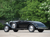 Rolls-Royce Phantom II Henley Brewster Roadster 1932 wallpapers