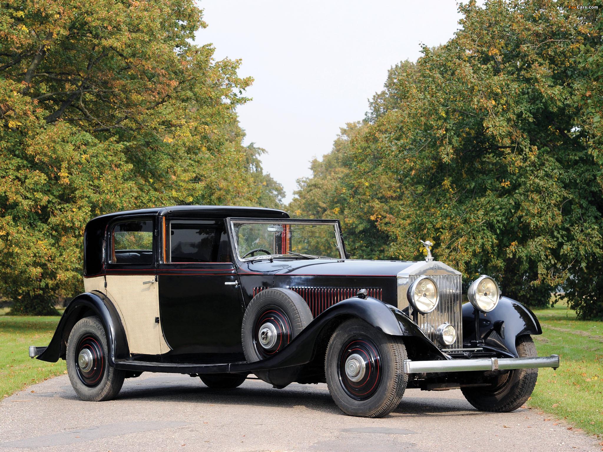Rolls-Royce Phantom II Sports Sedanca de Ville by Thrupp & Maberly 1933 photos (2048 x 1536)