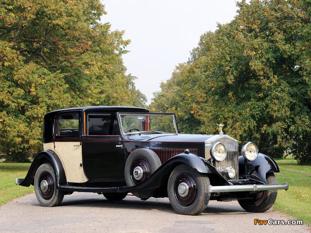 Rolls-Royce Phantom II Sports Sedanca de Ville by Thrupp & Maberly 1933 photos (640 x 480)