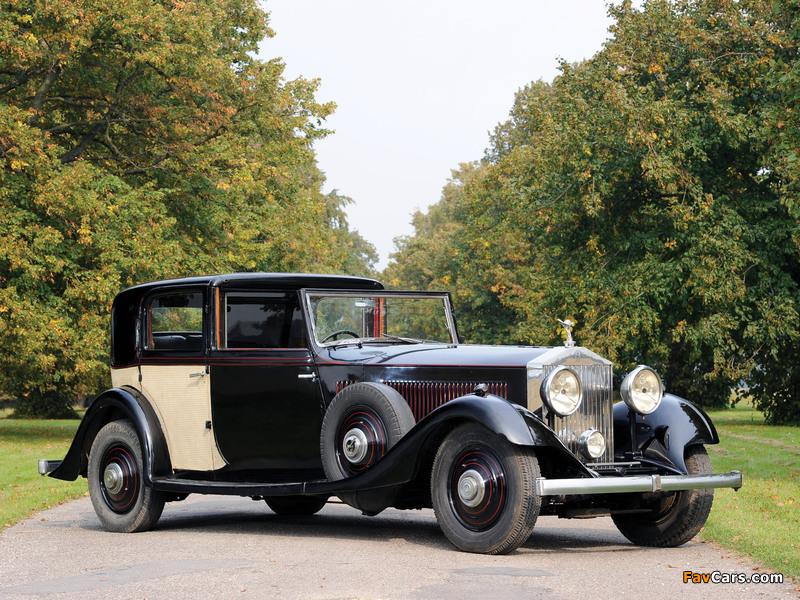 Rolls-Royce Phantom II Sports Sedanca de Ville by Thrupp & Maberly 1933 photos (800 x 600)