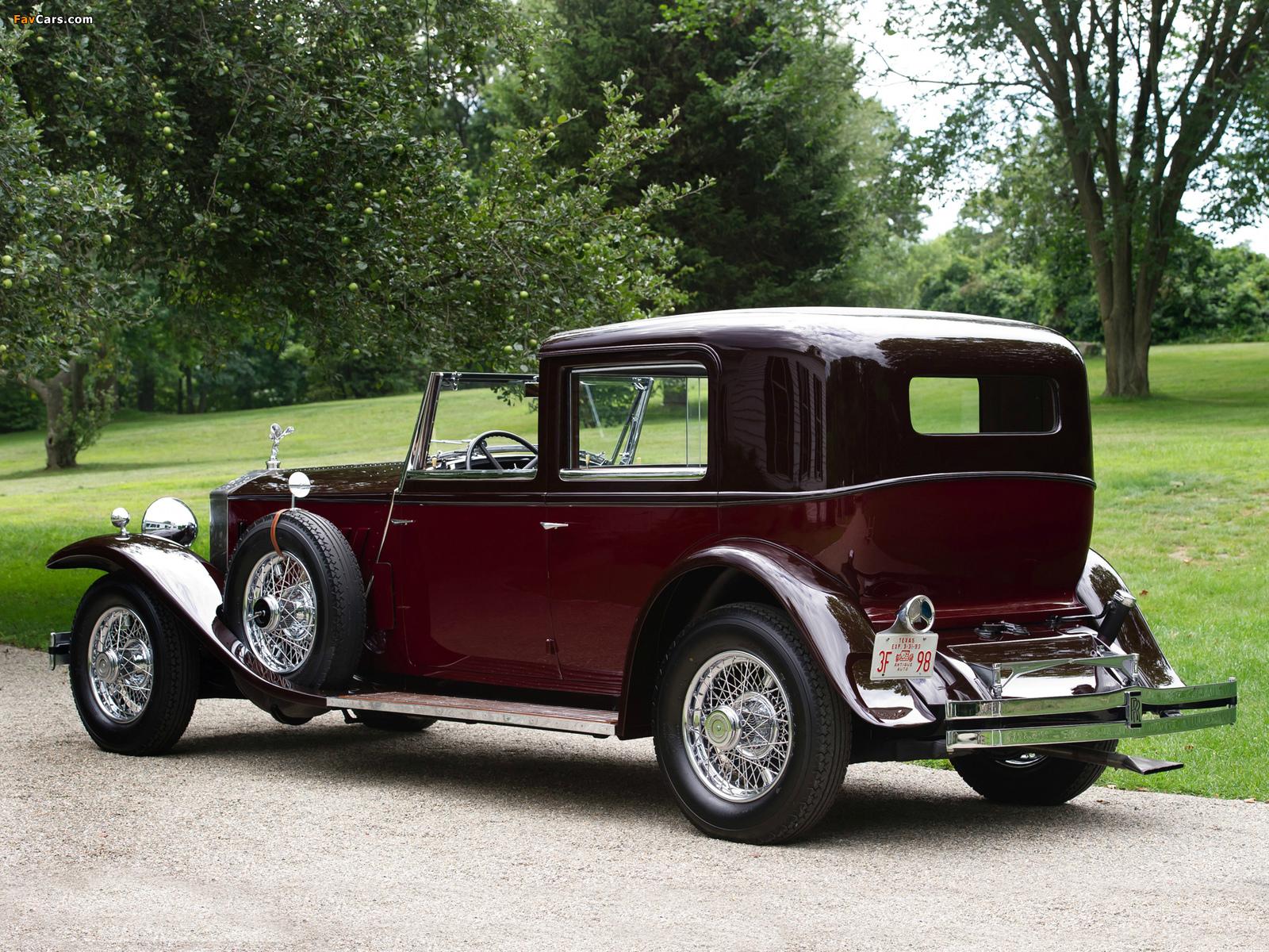 Rolls-Royce Phantom II Newport Sedanca de Ville 1933 photos (1600 x 1200)