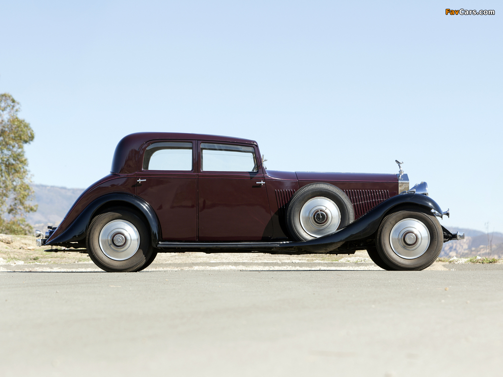 Rolls-Royce Phantom II Continental Touring Saloon by Barker 1933 pictures (1024 x 768)