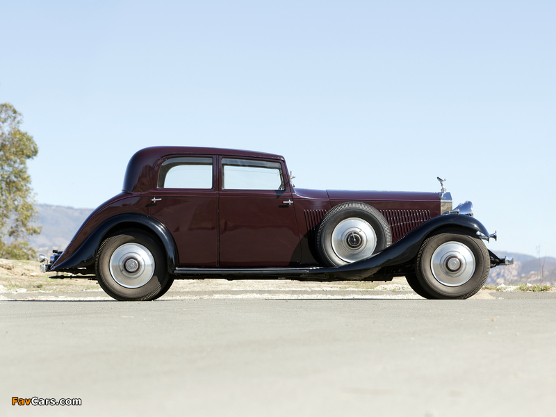 Rolls-Royce Phantom II Continental Touring Saloon by Barker 1933 pictures (800 x 600)