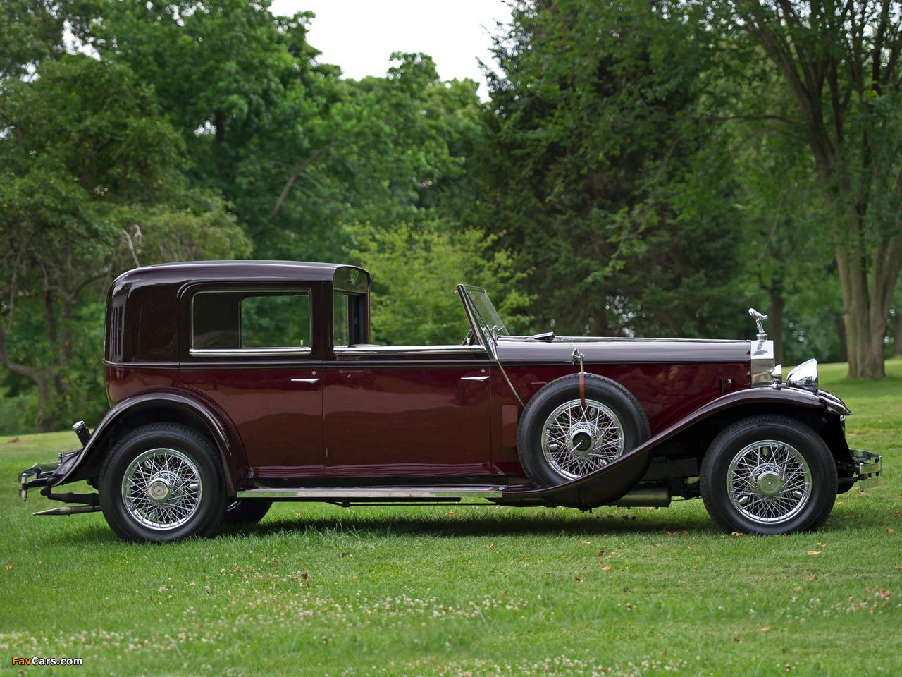 Rolls-Royce Phantom II Newport Sedanca de Ville 1933 pictures (1280 x 960)
