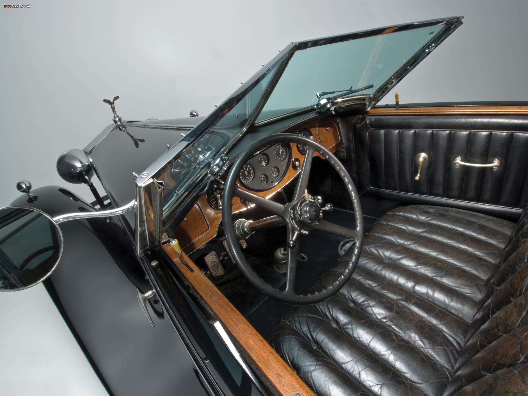 Rolls-Royce Phantom II Special Town Car by Brewster 1933 wallpapers (2048 x 1536)