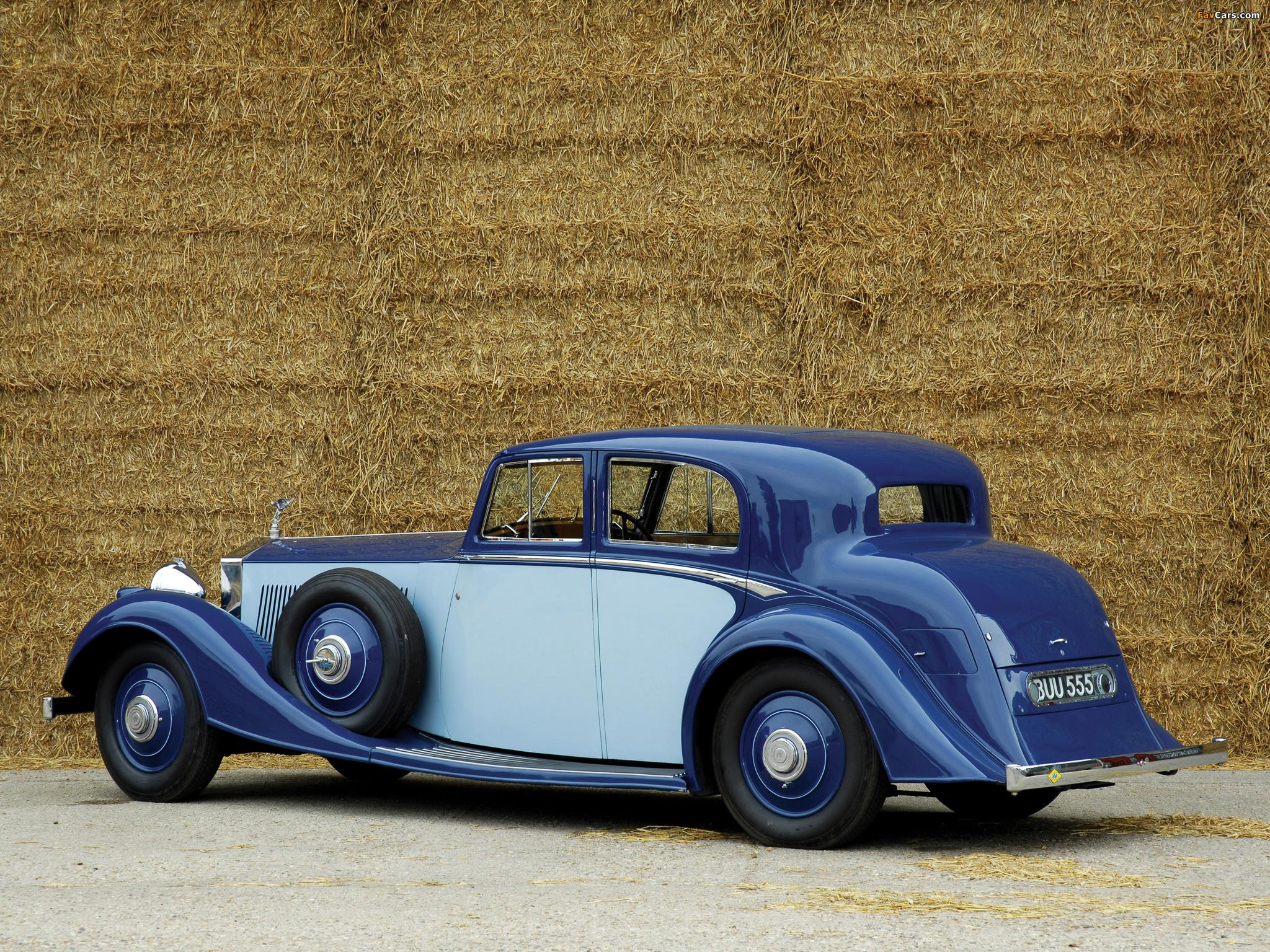 Rolls-Royce Phantom II Continental Sports Saloon 1934 images (2048 x 1536)