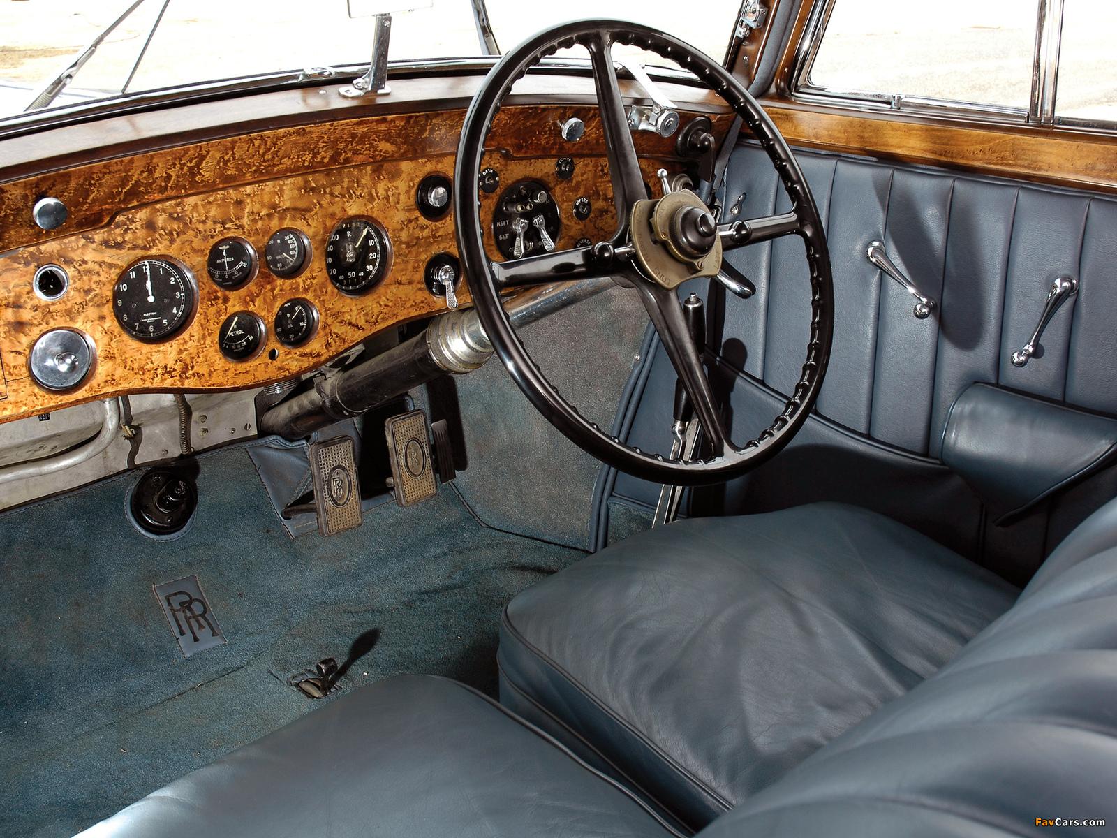 Rolls-Royce Phantom II Continental Sports Saloon 1934 images (1600 x 1200)