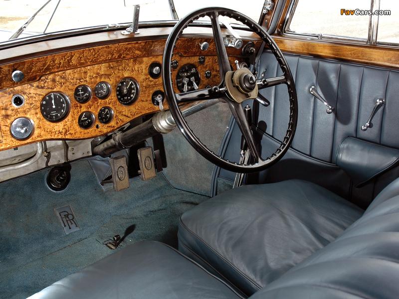 Rolls-Royce Phantom II Continental Sports Saloon 1934 images (800 x 600)