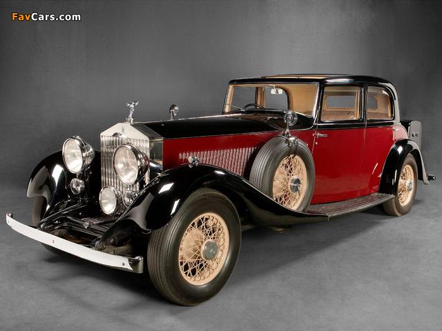 Rolls-Royce Phantom II Touring Saloon by Park Ward 1934 images (640 x 480)
