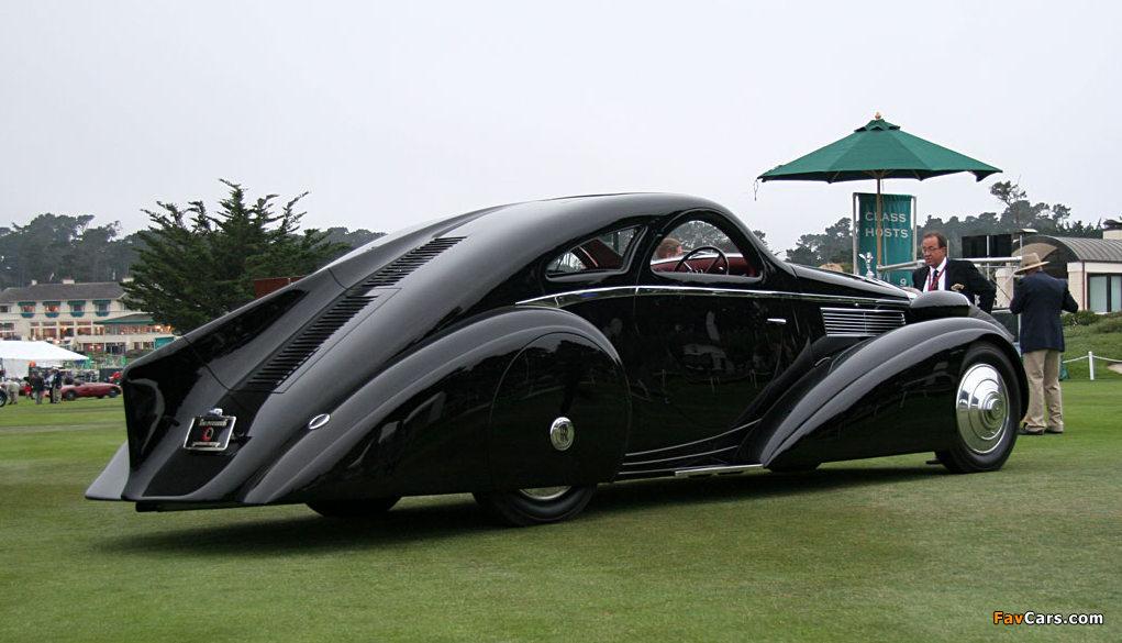 Rolls-Royce Phantom I Jonckheere Coupe (1934) wallpapers (1021 x 585)