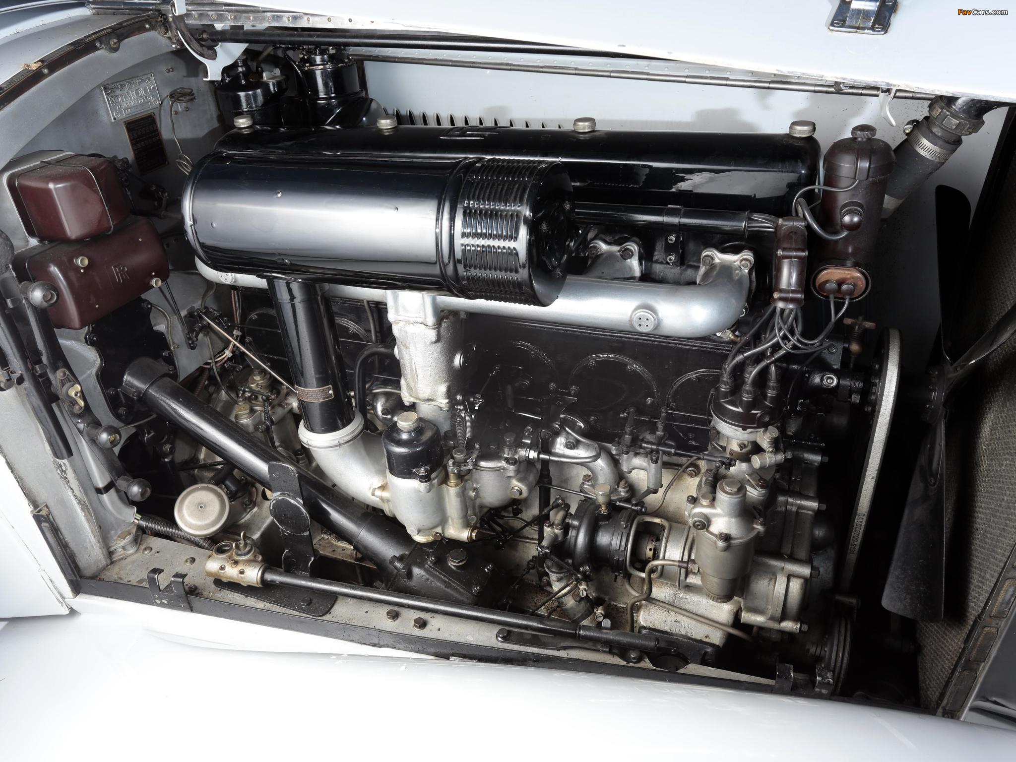 Rolls-Royce Phantom II 40/50 HP Continental Sports Saloon by Gurney Nutting 1934 wallpapers (2048 x 1536)