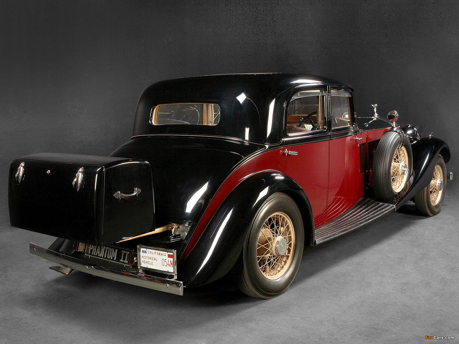 Rolls-Royce Phantom II Touring Saloon by Park Ward 1934 wallpapers (1600 x 1200)