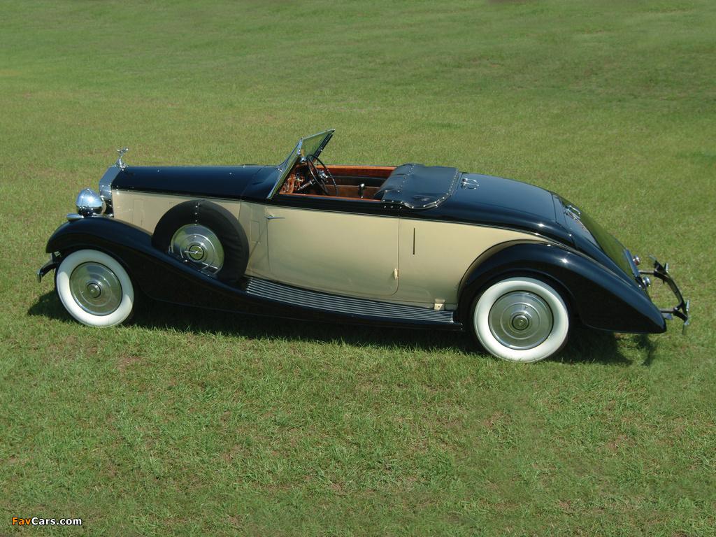 Rolls-Royce Phantom III Henley Roadster 1937 photos (1024 x 768)