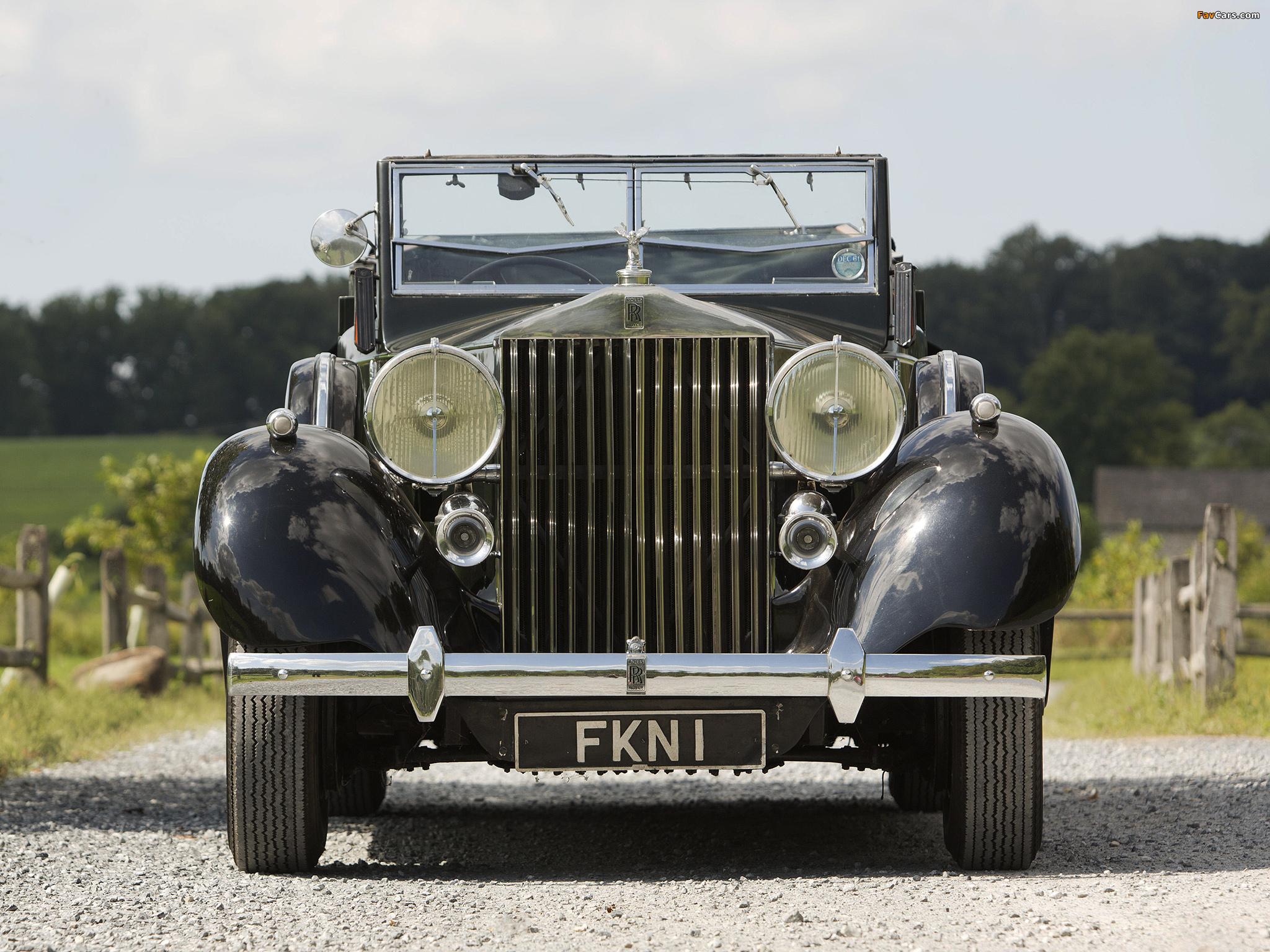 Rolls-Royce Phantom III Four Light Cabriolet by Freestone & Webb 1938 images (2048 x 1536)