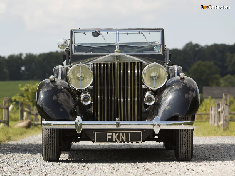 Rolls-Royce Phantom III Four Light Cabriolet by Freestone & Webb 1938 images (800 x 600)