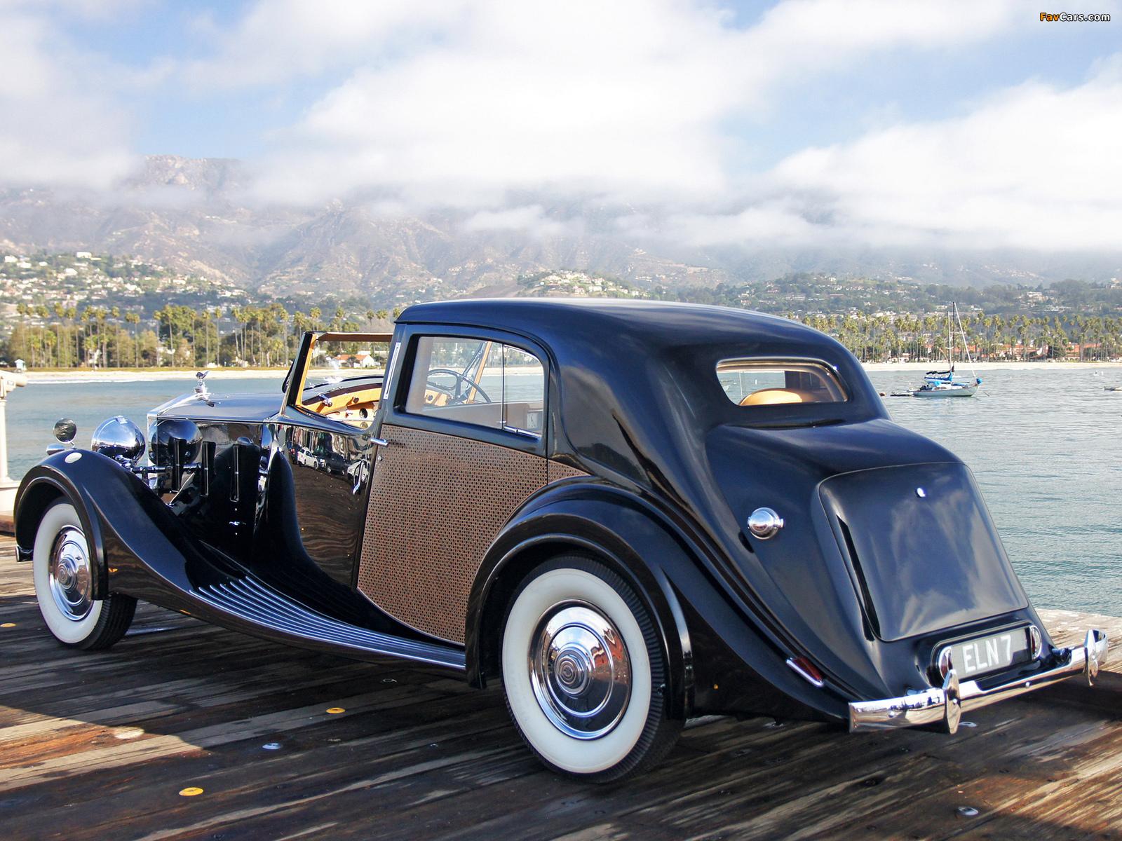 Rolls-Royce Phantom III Sedanca de Ville by Park Ward 1938 images (1600 x 1200)