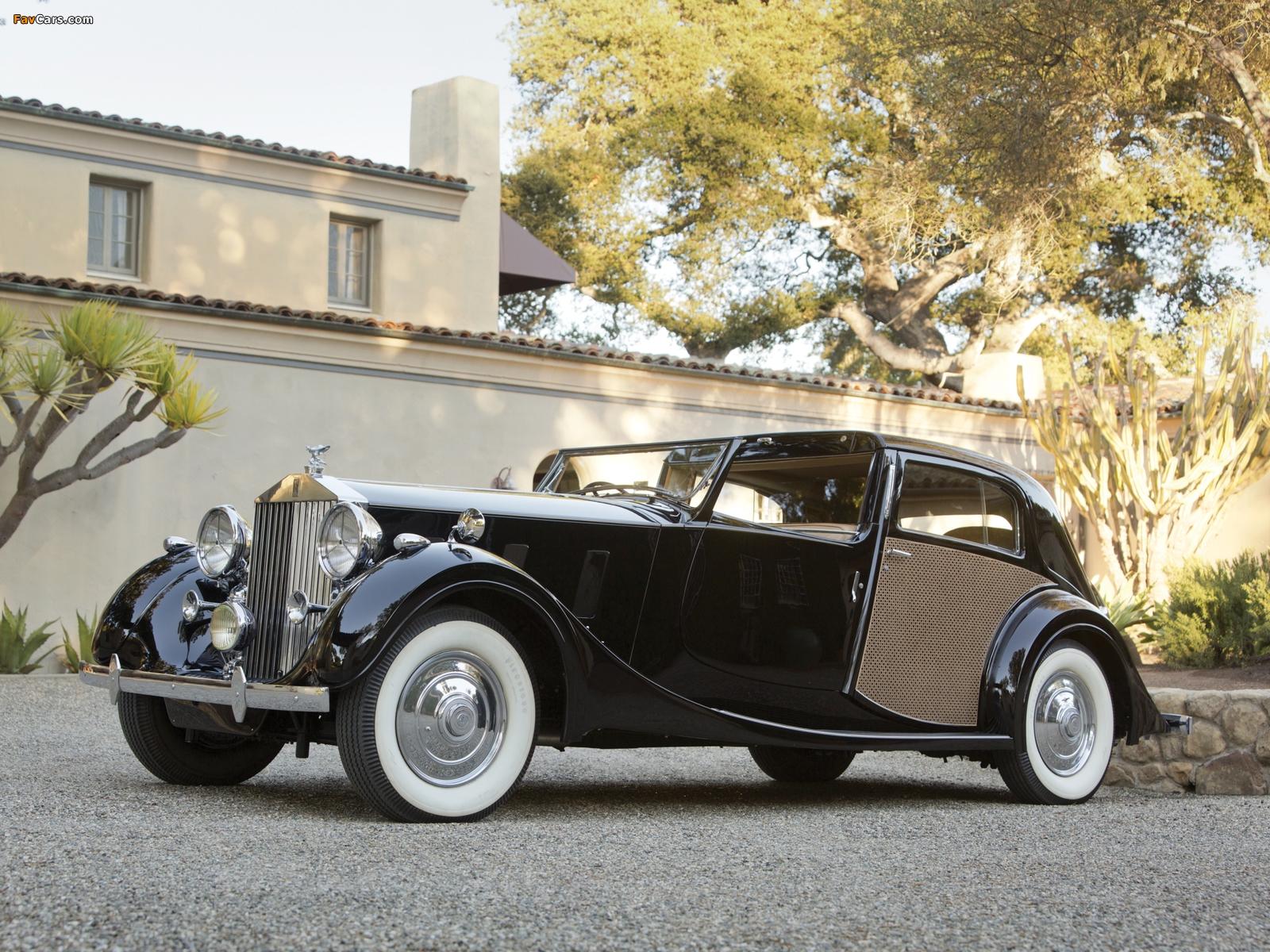 Rolls-Royce Phantom III Sedanca de Ville by Park Ward 1938 pictures (1600 x 1200)