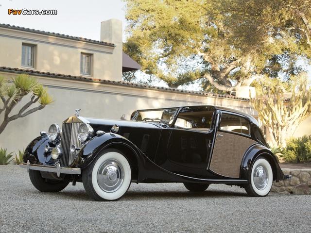 Rolls-Royce Phantom III Sedanca de Ville by Park Ward 1938 pictures (640 x 480)