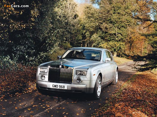 Rolls-Royce Phantom UK-spec 2003–09 photos (640 x 480)