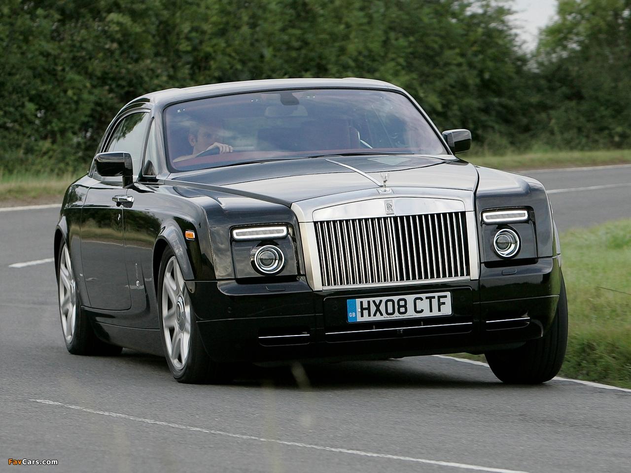 Rolls-Royce Phantom Coupe UK-spec 2009–12 wallpapers (1280 x 960)