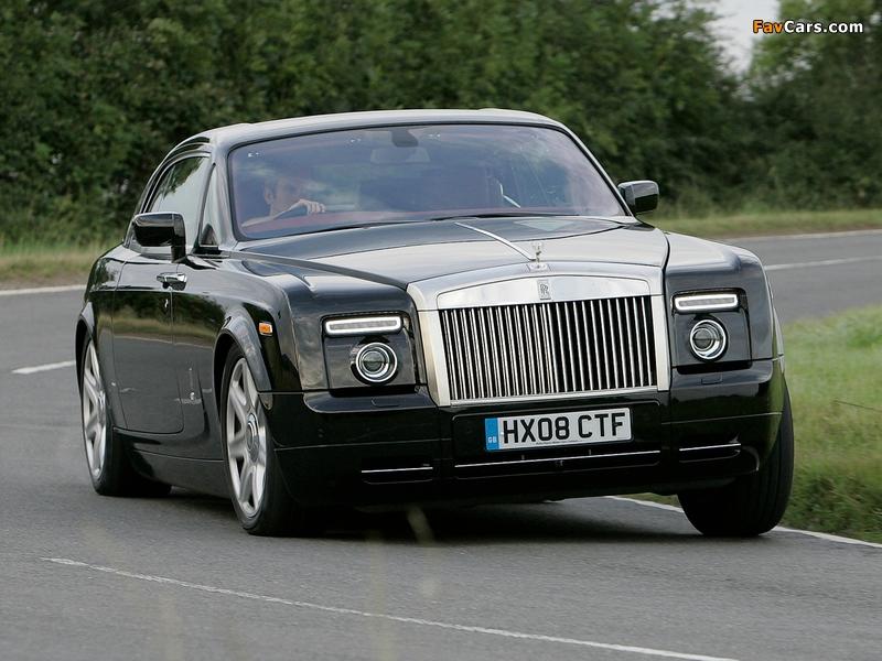 Rolls-Royce Phantom Coupe UK-spec 2009–12 wallpapers (800 x 600)