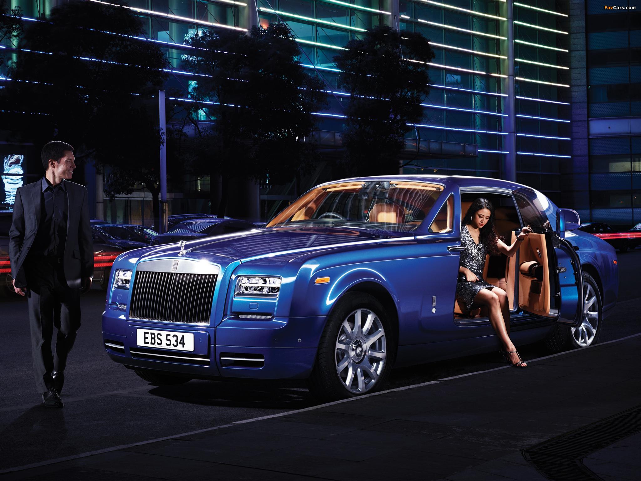 Rolls-Royce Phantom Coupe UK-spec 2012 images (2048 x 1536)