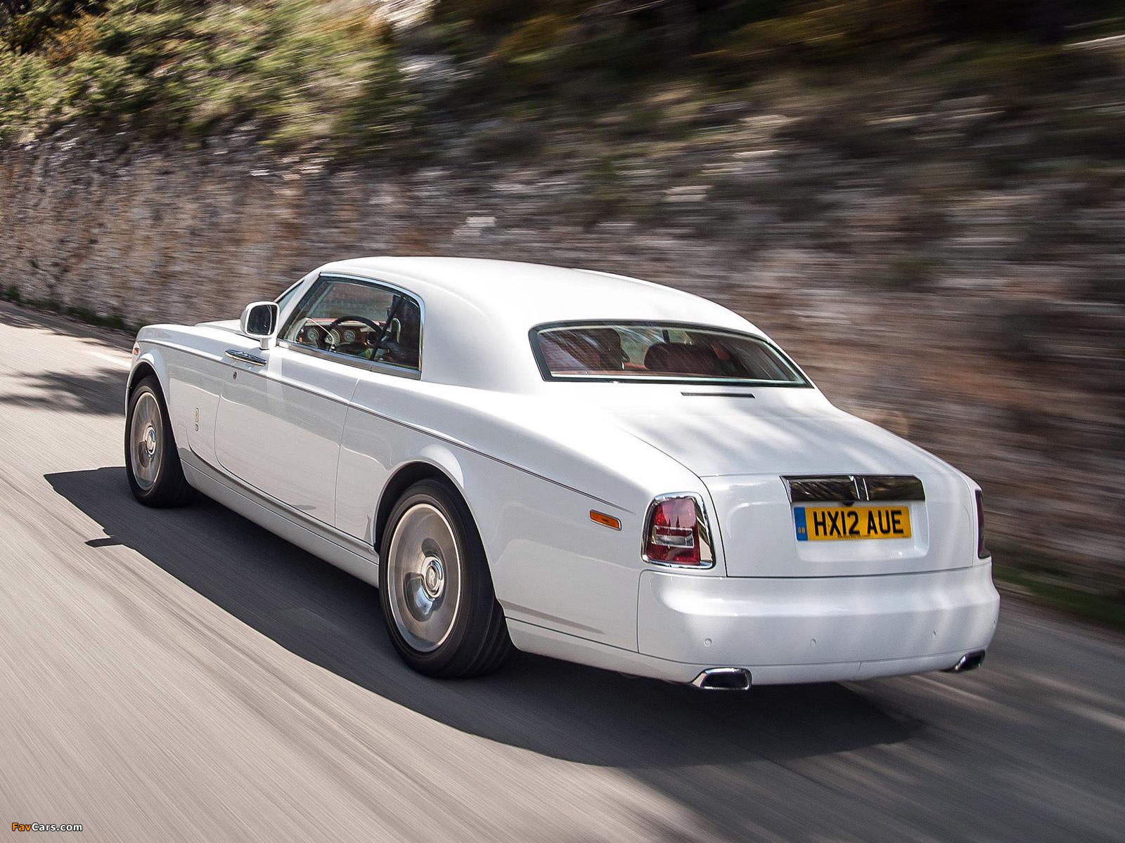 Rolls-Royce Phantom Coupe 2012 wallpapers (1600 x 1200)