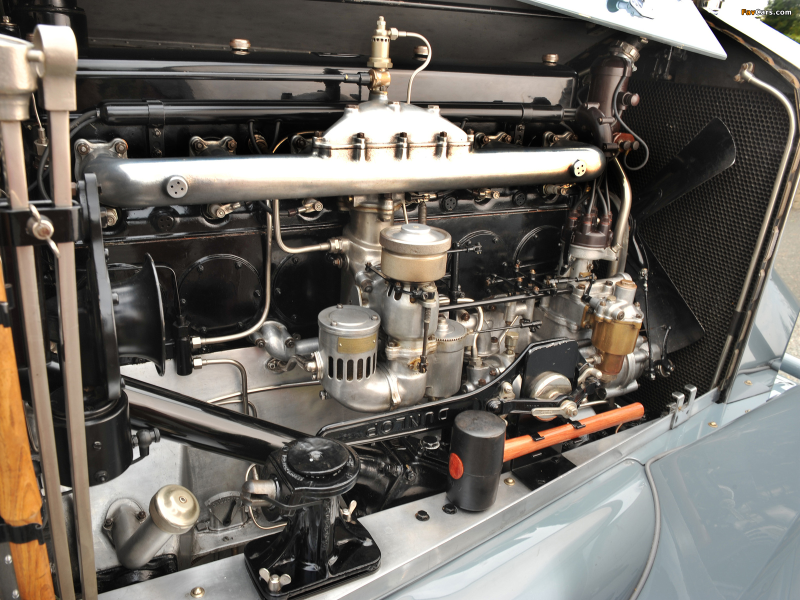 Rolls-Royce Phantom Tourer (II) 1930–35 photos (1600 x 1200)