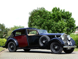 Rolls-Royce Phantom Sedanca de Ville (III) 1937 wallpapers