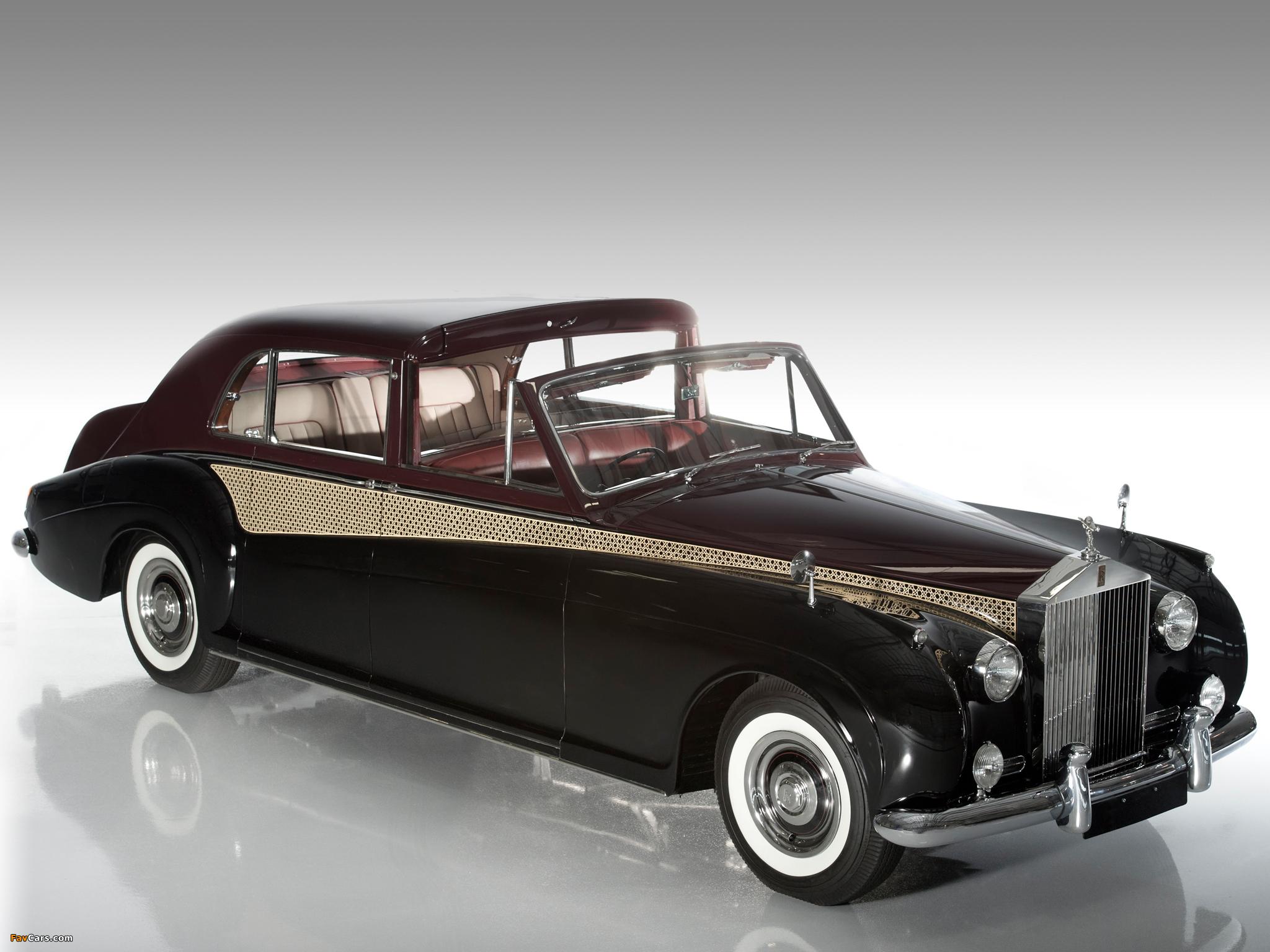 Rolls Royce Phantom V Sedanca Deville By James Young 1960 63 Wallpapers