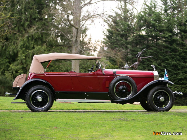 Rolls-Royce Phantom I Derby Speedster by Brewster (S155PM) 1927 wallpapers (640 x 480)
