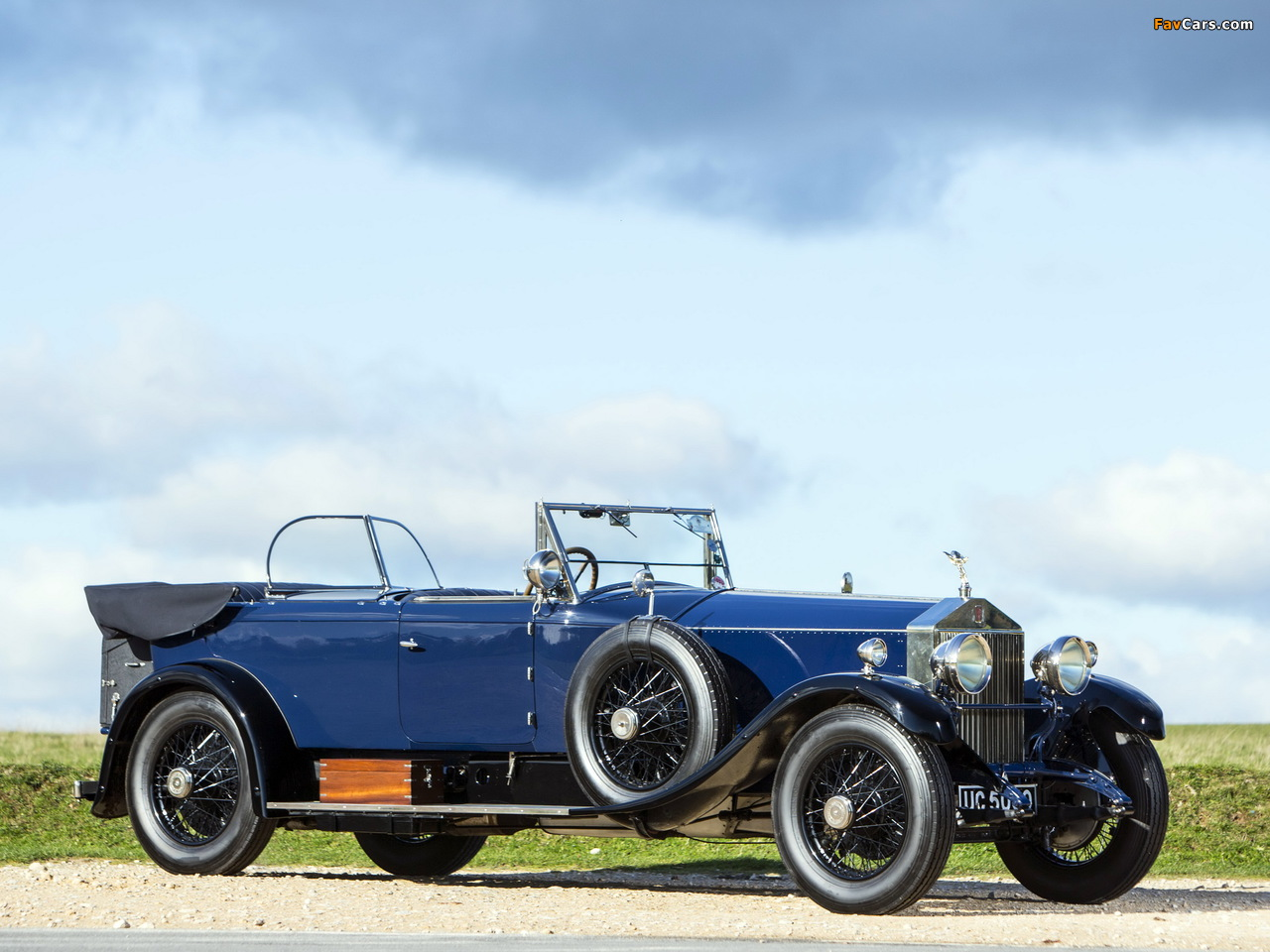 Rolls-Royce Phantom I 40/50 HP Tourer by James Young 1928 wallpapers (1280 x 960)