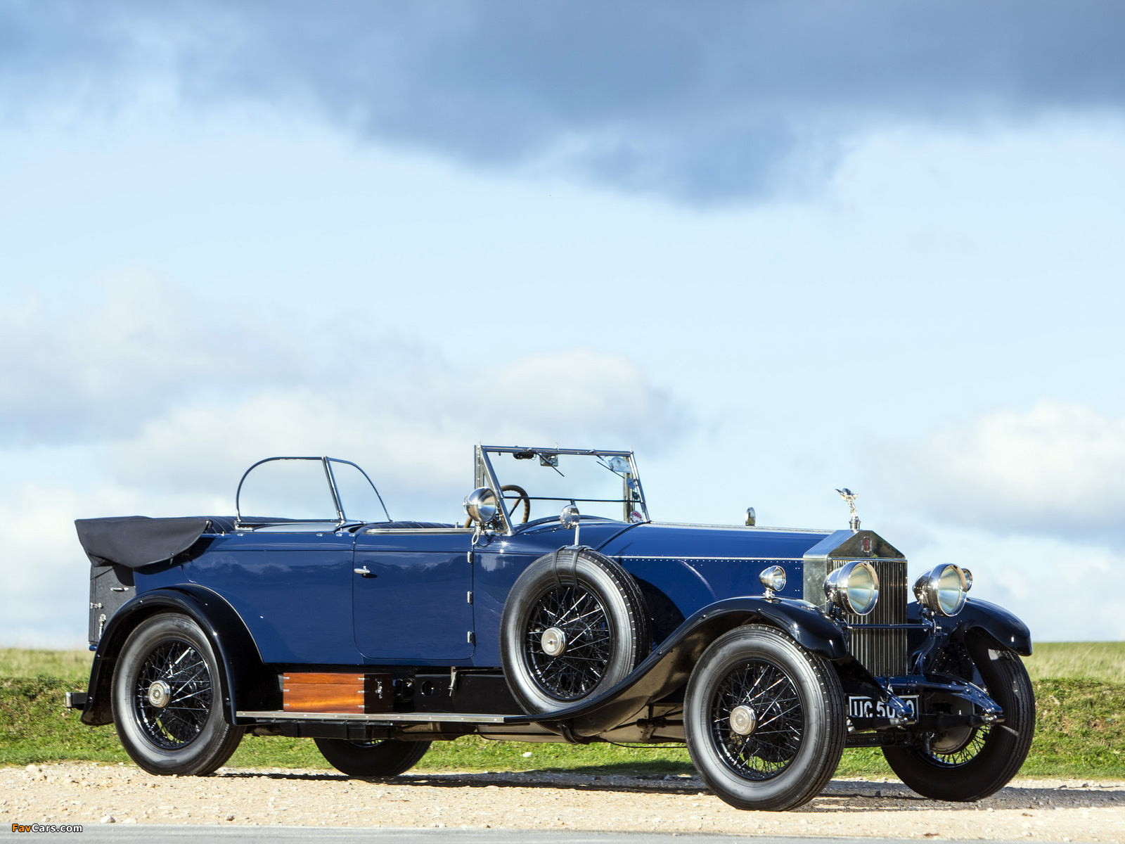Rolls-Royce Phantom I 40/50 HP Tourer by James Young 1928 wallpapers (1600 x 1200)