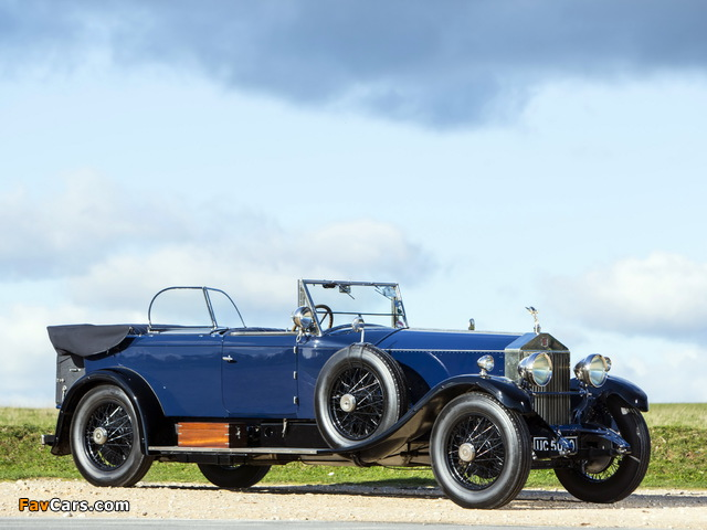 Rolls-Royce Phantom I 40/50 HP Tourer by James Young 1928 wallpapers (640 x 480)
