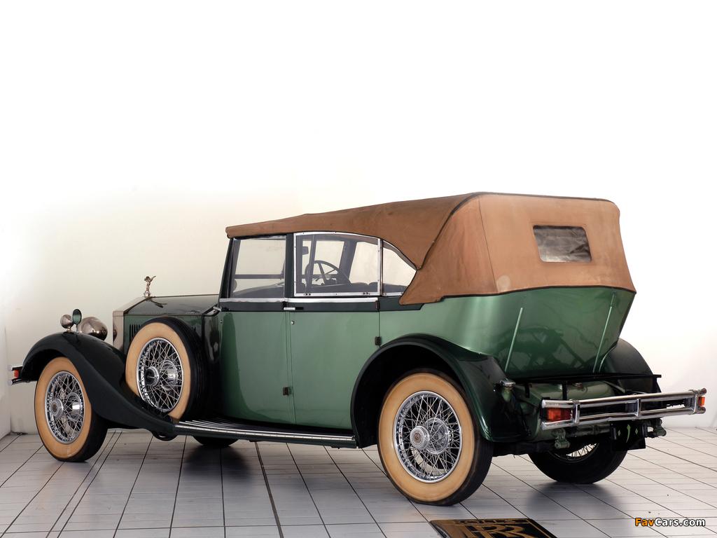 Rolls-Royce Phantom II 40/50 HP Cabriolet Hunting Car 1929 wallpapers (1024 x 768)