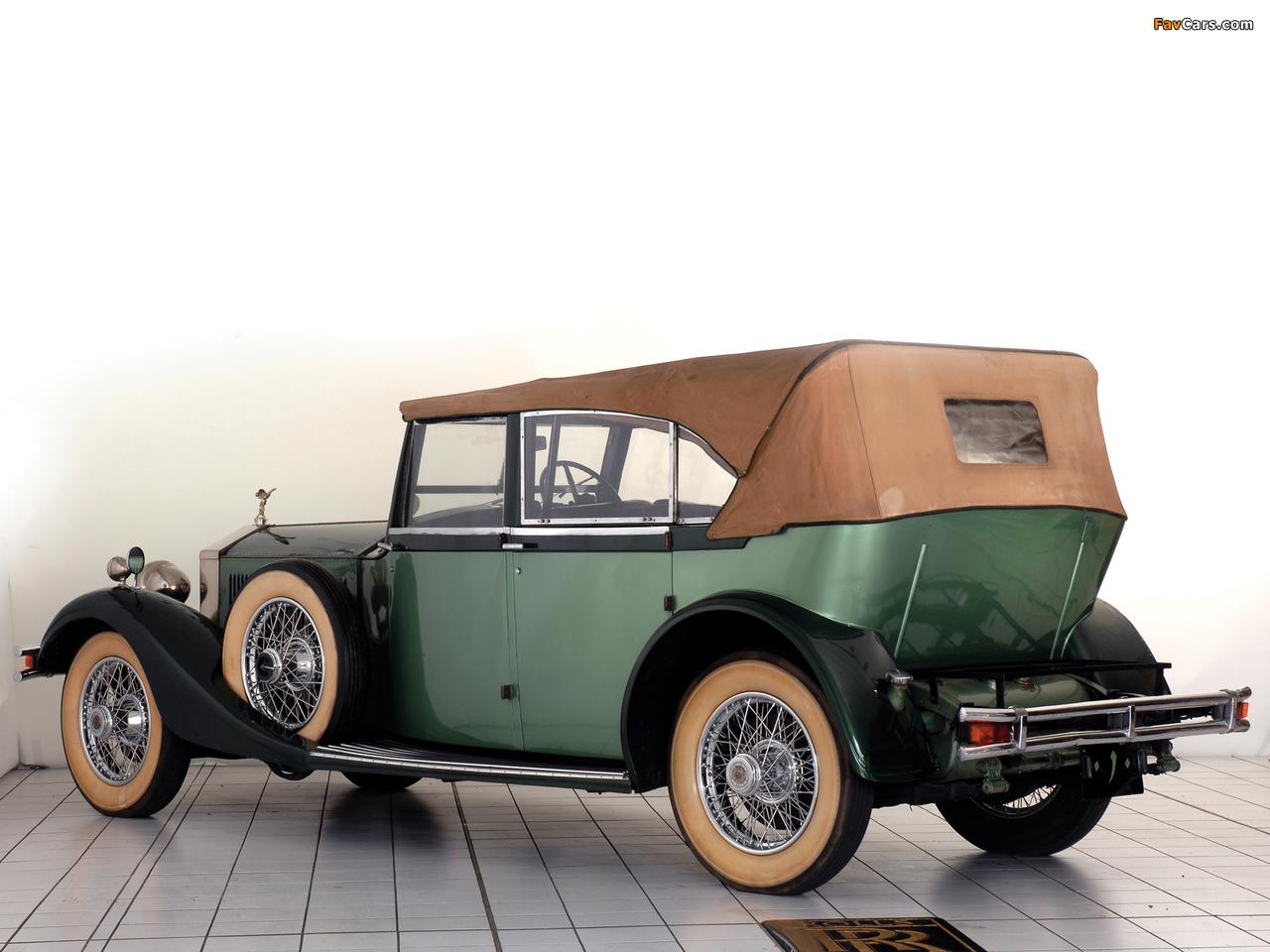 Rolls-Royce Phantom II 40/50 HP Cabriolet Hunting Car 1929 wallpapers (1280 x 960)