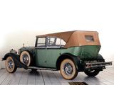 Rolls-Royce Phantom II 40/50 HP Cabriolet Hunting Car 1929 wallpapers
