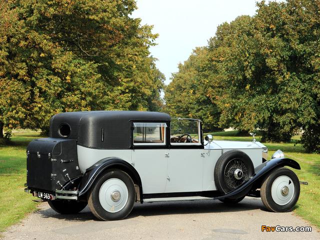 Rolls-Royce Phantom II Sedanca de Ville by Barker 1929 wallpapers (640 x 480)