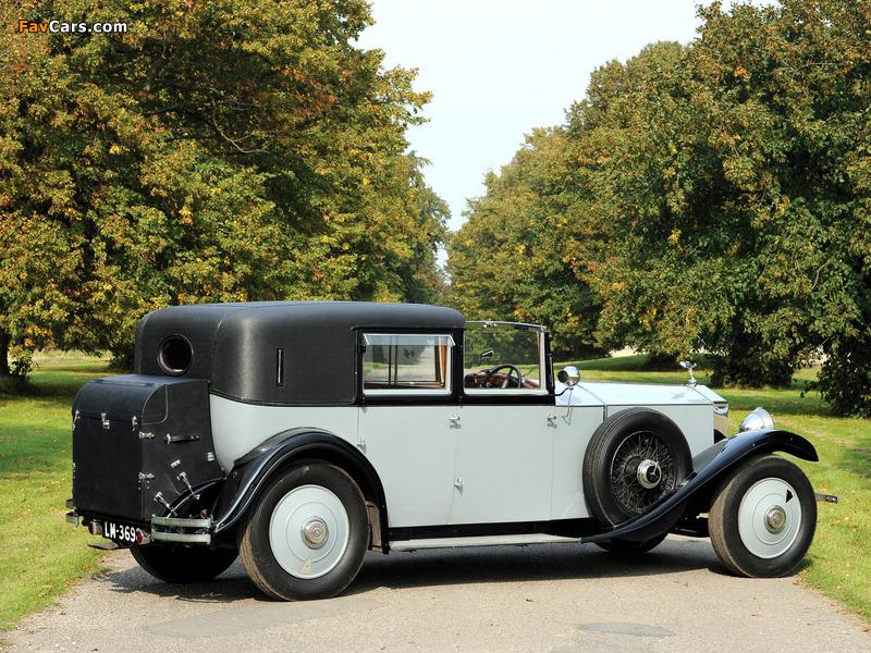 Rolls-Royce Phantom II Sedanca de Ville by Barker 1929 wallpapers (800 x 600)